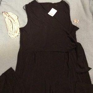 Tiana B black sleeveless jumpsuit